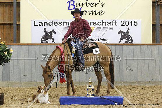 Medaillenträger Horse and Dog Trail