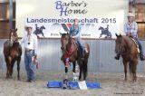 Medal Winners Senior Ranch Riding